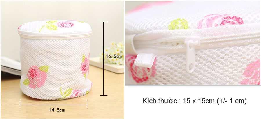 Túi lưới 2 lớp giặt đồ lót W8023 hàng Nhật