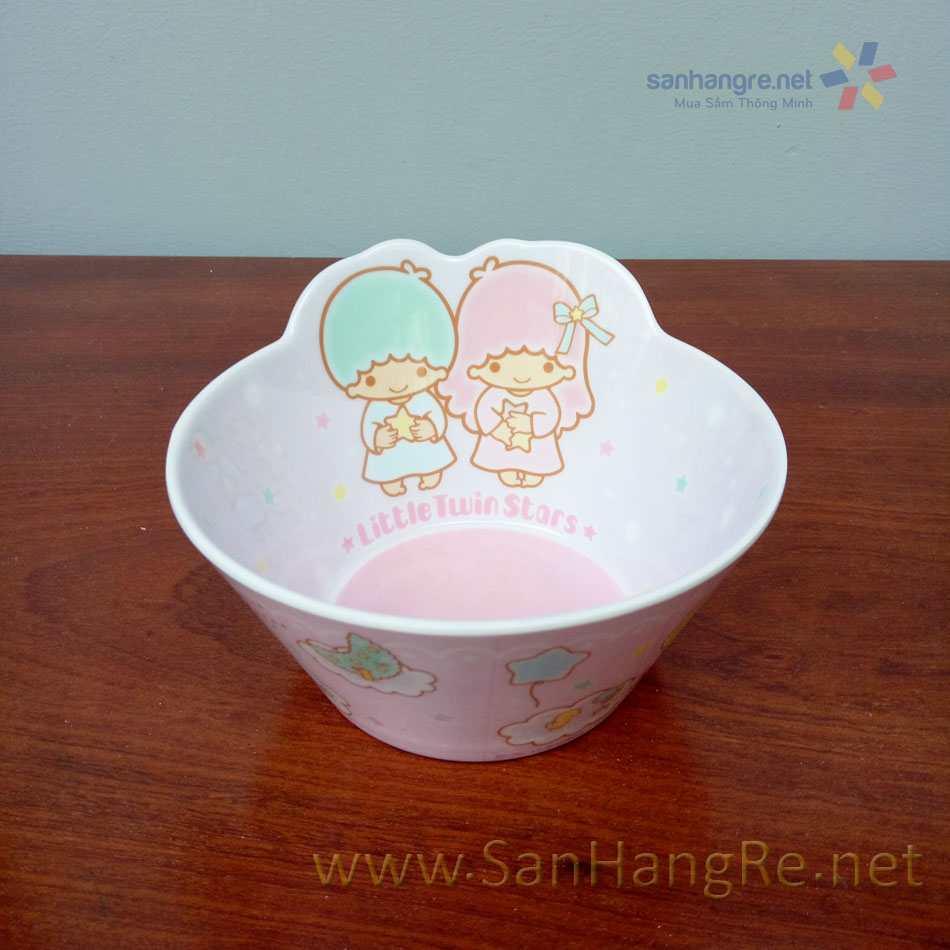 Bộ đồ dùng ăn hình chó Little Twin Stars cho bé hàng xuất Nhật