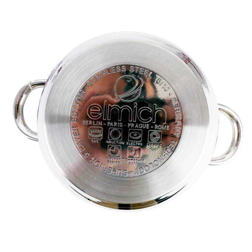 Bộ 5 nồi và chảo inox cao cấp Elmich Komplet EL3112