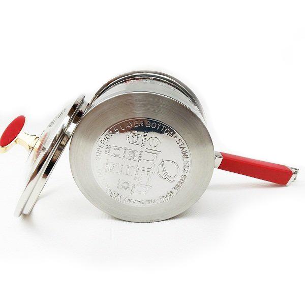Quánh Inox 304 đáy từ 16cm Elmich 2355790 hàng nhập khẩu nguyên chiếc CH Séc