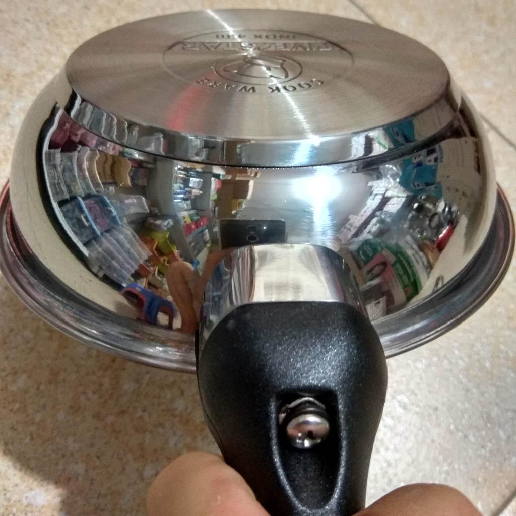 Chảo chống dính Inox 3 đáy Fivestar 16cm dùng bếp từ