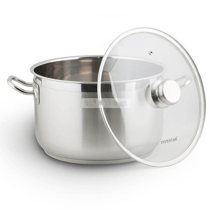 Bộ nồi xửng hấp Inox 3 đáy Fivestar 30cm dùng bếp từ