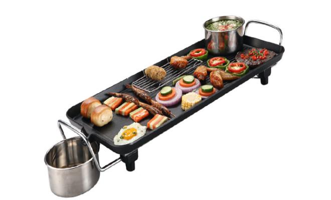Vỉ nướng điện Electric Barbecue Plate 1500w DS-6048 Hàn Quốc