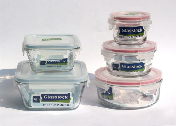 Bộ 5 hộp thủy tinh glasslock