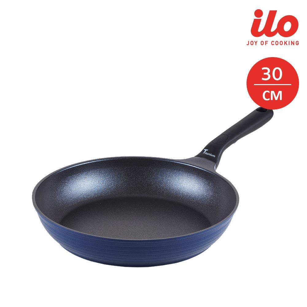 Chảo chống dính 20cm ilo Kitchen Titanium Hàn Quốc cao cấp đáy từ