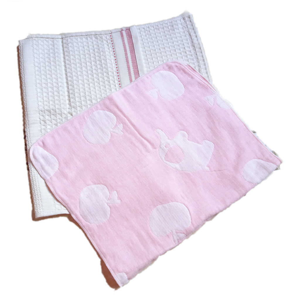 Bộ 2 khăn mặt Songwol 45x32cm MS03 (loại mỏng nhiều mầu)
