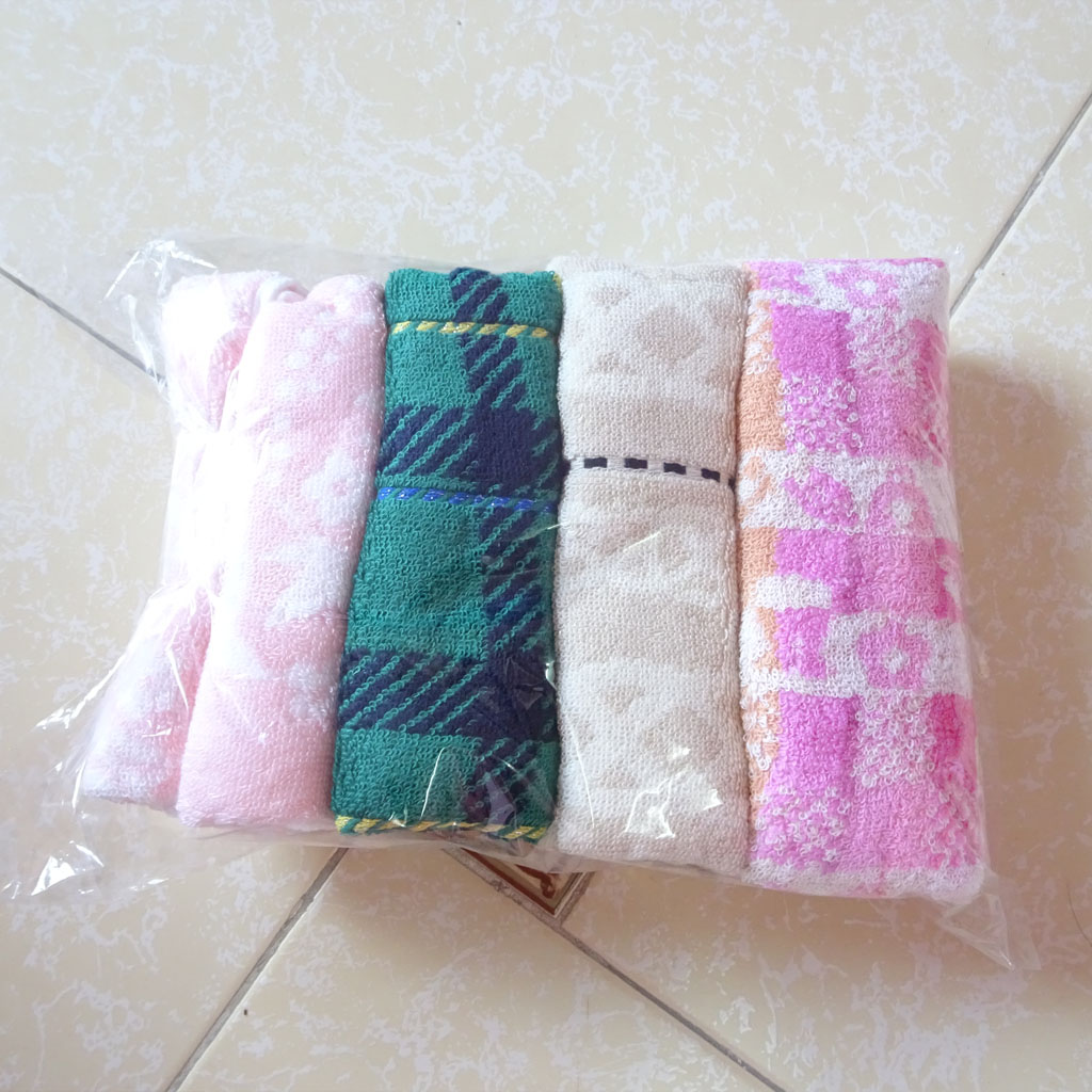 Bộ 4 khăn mặt Songwol 75x34cm MS02