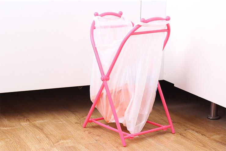 Khung nhựa treo túi đựng rác gấp gọn KM-1105