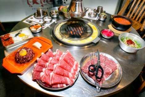 Kéo cắt thịt nướng BBQ Bulgogi Lock&Lock F00095