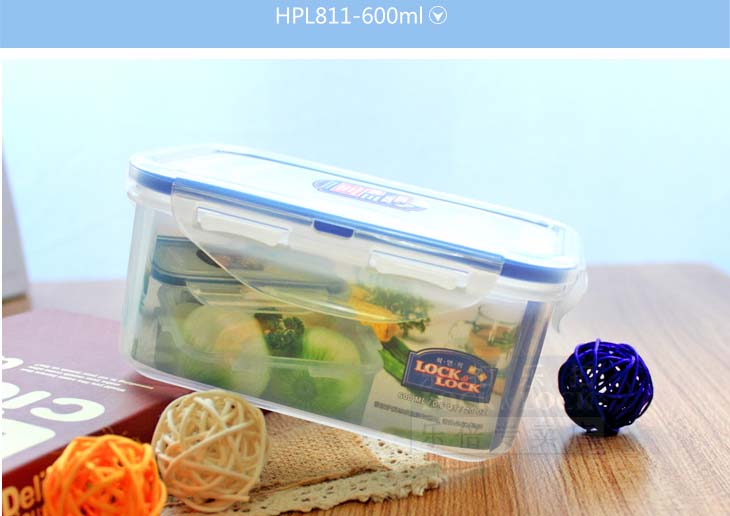 Bộ 8 Hộp Lock&Lock Classic HPL827S002