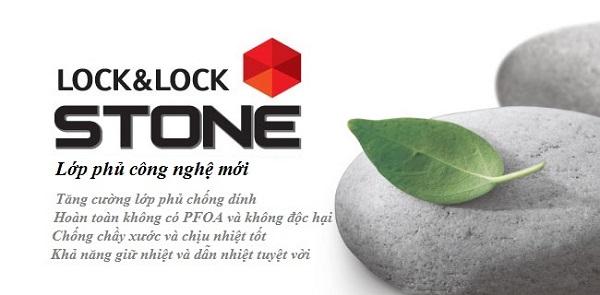 Nồi Lock&Lock Stone 2 tay cầm LCA6242D 24cm