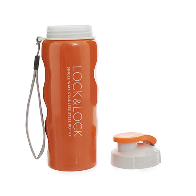 Bình nước thể thao thép không gỉ Lock&Lock LHC213 550ml Orange