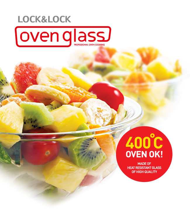 Bộ 6 món thủy tinh cao cấp Lock&lock Samsung LLG831S6SS