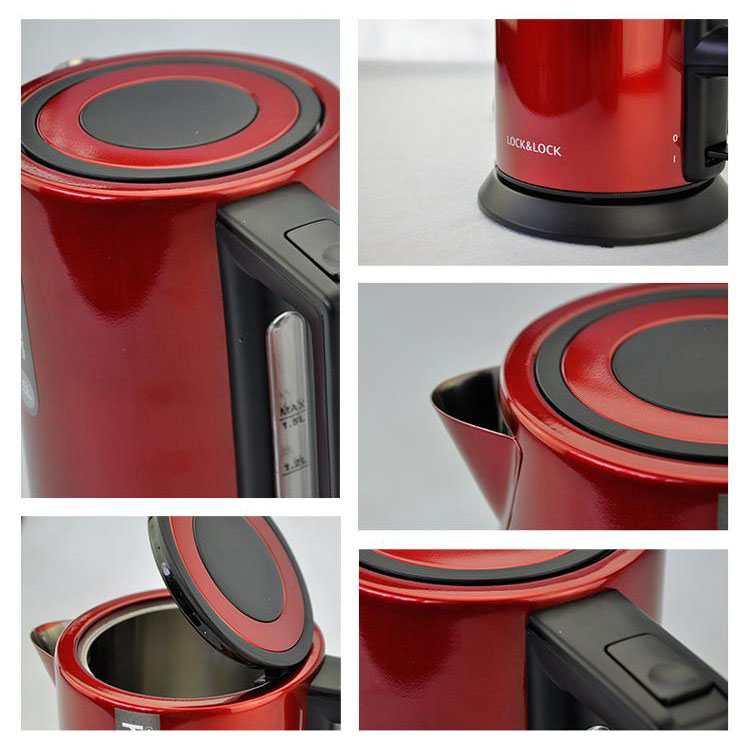Ấm siêu tốc Lock&Lock ELK-218R 1,8L (Đỏ)