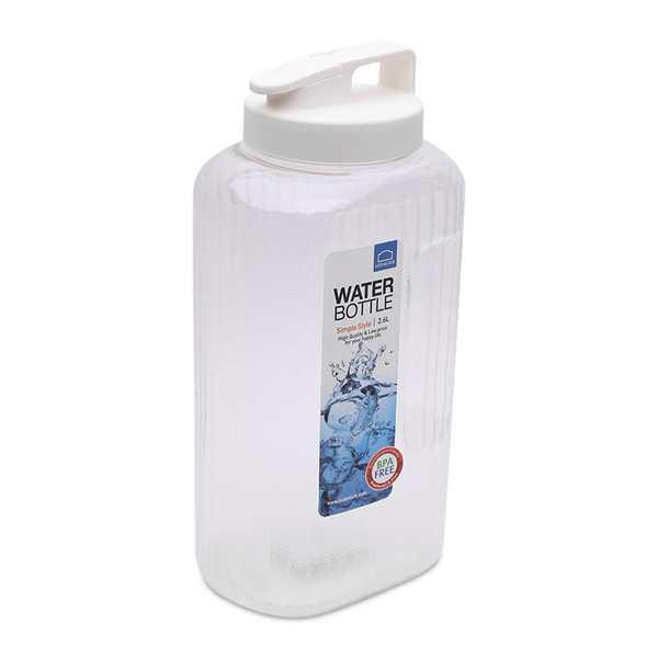 Bình nước AQUA Lock&Lock màu trắng 2.6l