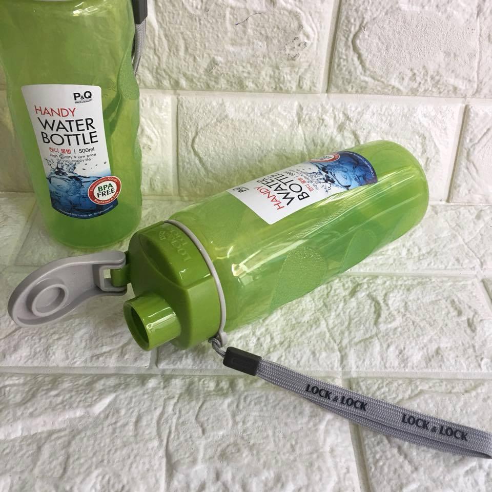 Bình nước thể thao Lock&Lock HPP727 dung tích 500ml màu xanh lá
