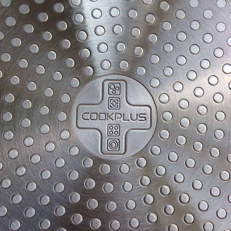 Nồi nhôm đáy từ E-Cook Deco Lock&Lock LED2222R-IH 22cm