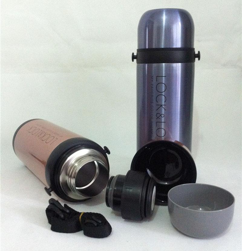 Bình giữ nhiệt Inox 304 Lock&lock Travel Pot LHC1428SG 1000ml