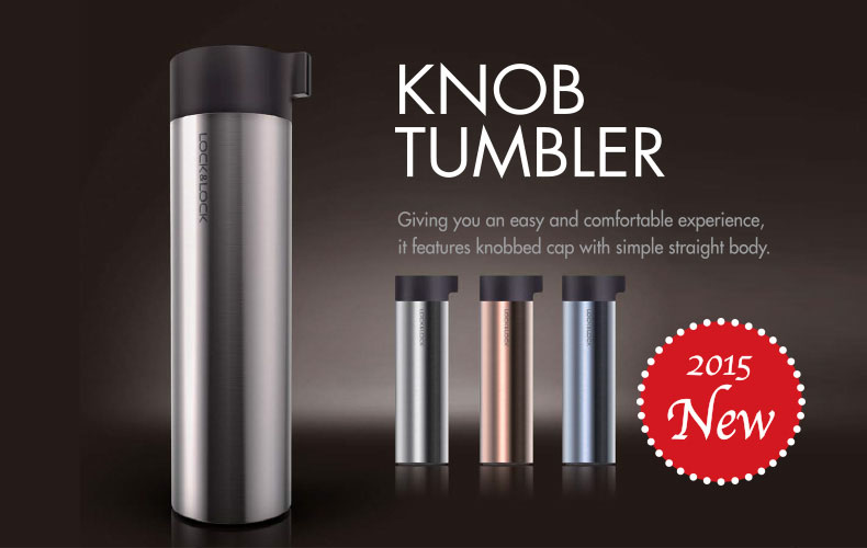 Bình giữ nhiệt Inox 304 Lock&Lock Knob Tumbler LHC1421 400ml