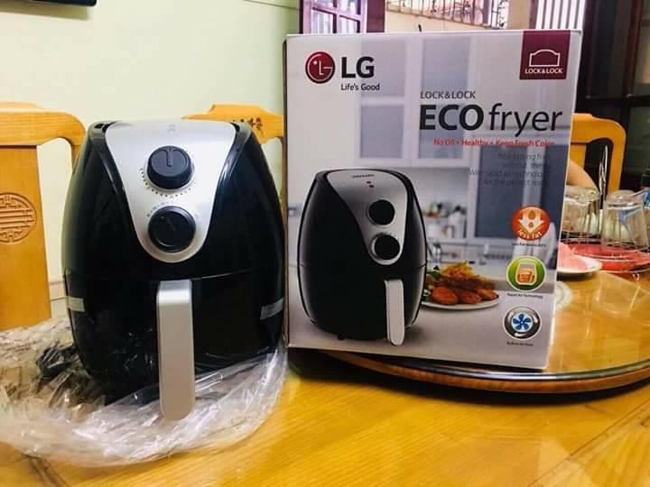 Nồi chiên không dầu LG Lock&Lock Eco Fryer EJF446 3.5L 1500W