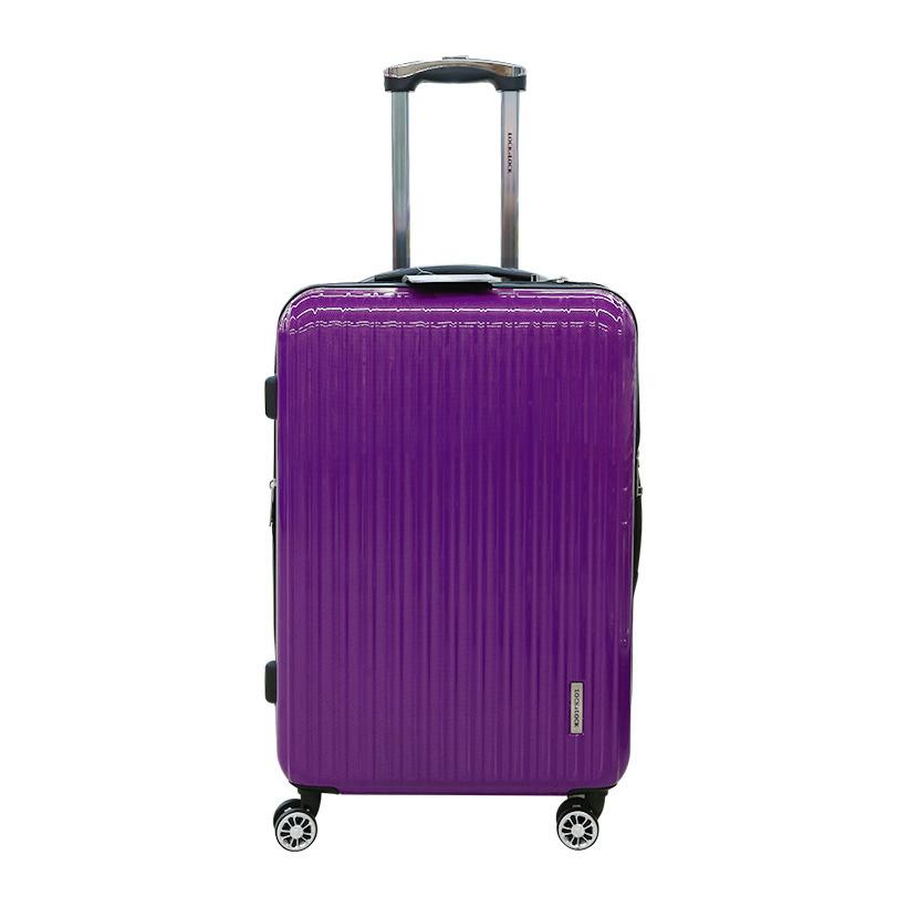 Vali du lịch Lock&Lock Travel Zone LTZ995DPTSA 24 inch khóa TSA màu tím đậm (Hàng chính hãng)