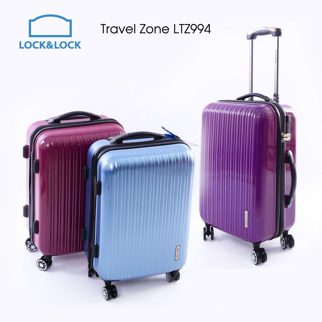 Vali Kéo Có Khóa Số Du Lịch Lock&Lock Travel Zone LTZ994TSA 20inch