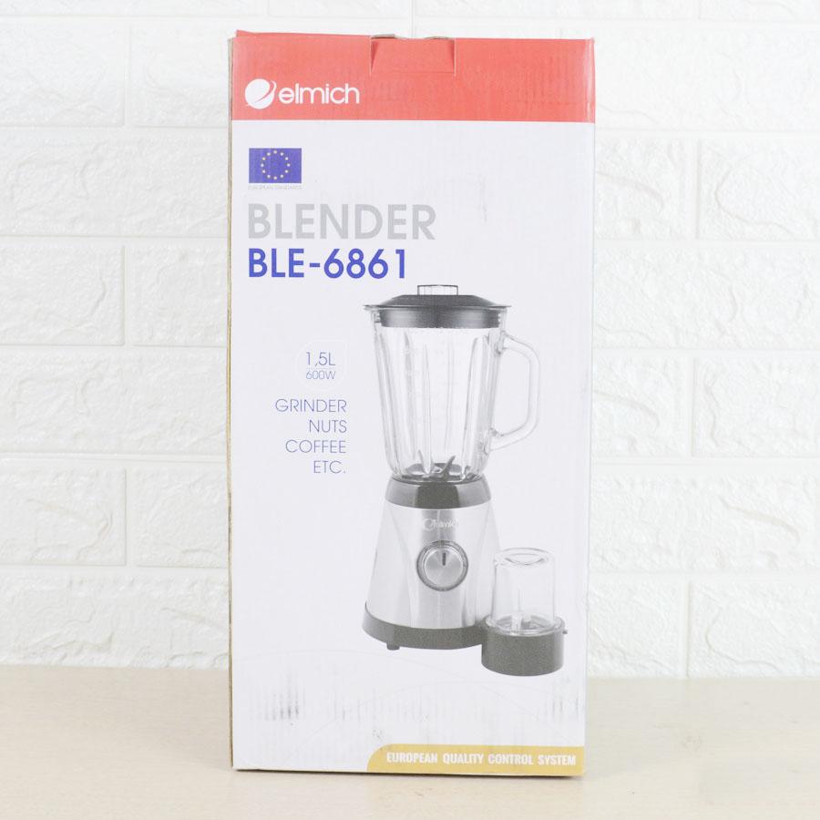 Máy xay sinh tố Blender Elmich BLE-6861 chính hãng CH Séc, bảo hành 25 tháng