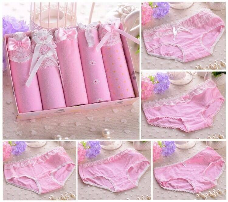 Hộp 5 quần lót Teengirl