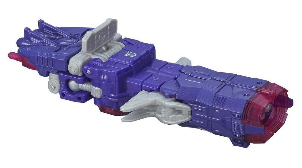 Robot Transformers biến hình trạm vũ trụ Deception Shockwave - Combiner Wars