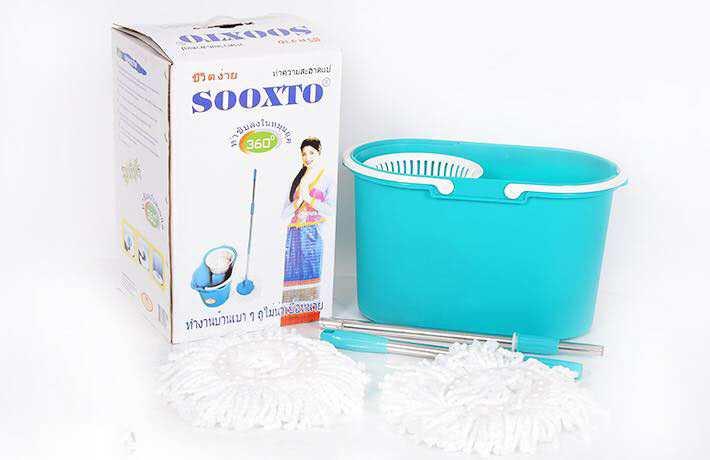 cây lau nhà thông minh Sooxto 360