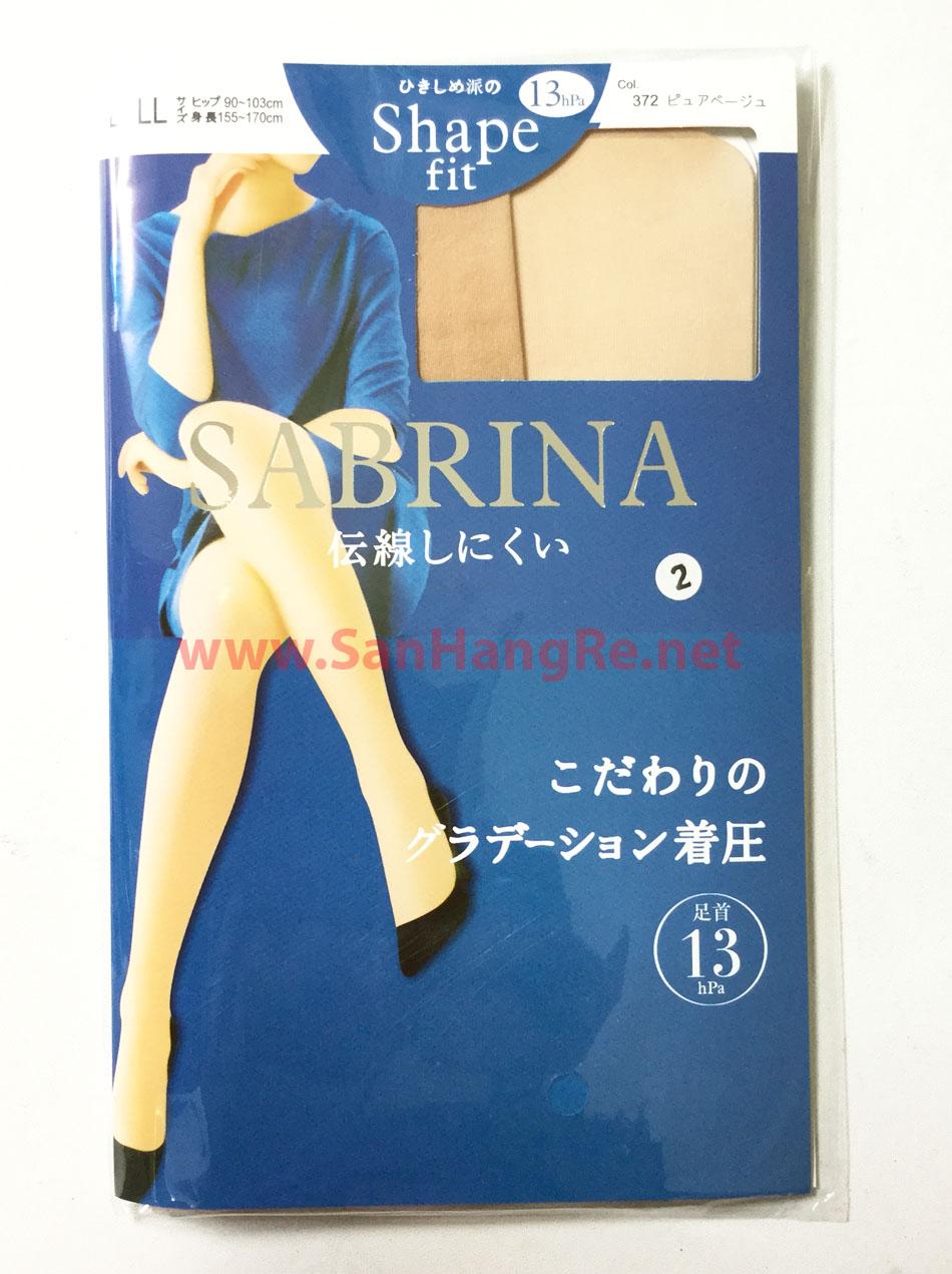 Bộ 2 quần tất Sabrina Shape Fit siêu bền chống trơn