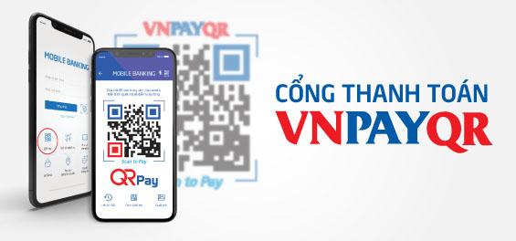 Hướng dẫn thanh toán mua hàng nhanh tại website SanHangRe.net qua VNPAYQR trên Mobile Banking