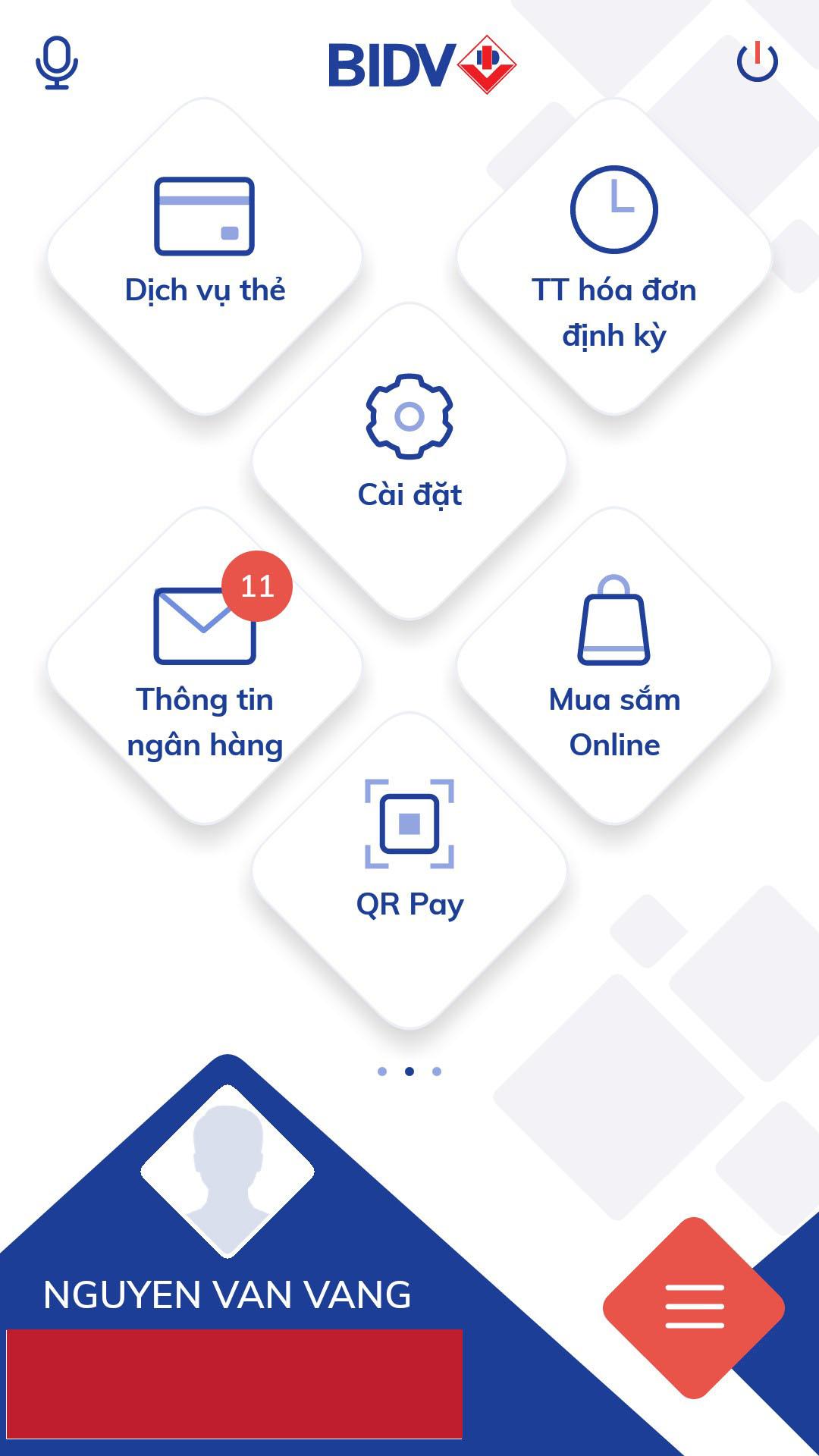 Các bước thanh toán bằng QR Pay (Qr Code) trên ứng dụng Mobile Banking