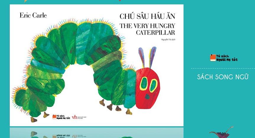 Chú Sâu Háu Ăn - truyện tranh Song Ngữ Anh Việt