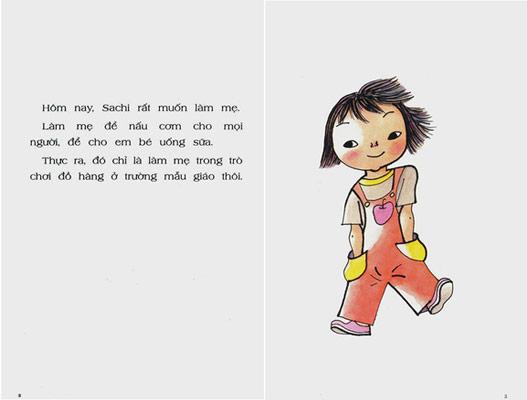 Bàn Tay Kỳ Diệu Của Sachi truyện tranh Ehon Nhật Bản