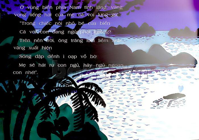 Cá Voi Con Ơi Lớn Nhanh Nào - truyện tranh Ehon