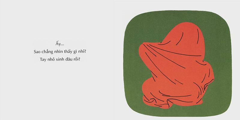 Truyện Tranh Ehon - Tay Xinh Đâu Nhỉ