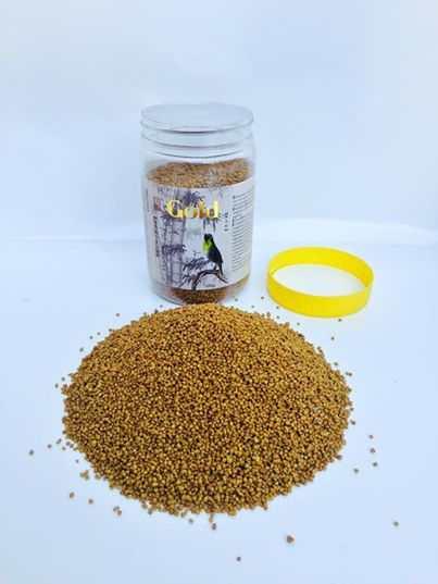 Cám chim vành khuyên Tú Gold Hộp Lắp vàng - Hộp 250 gram