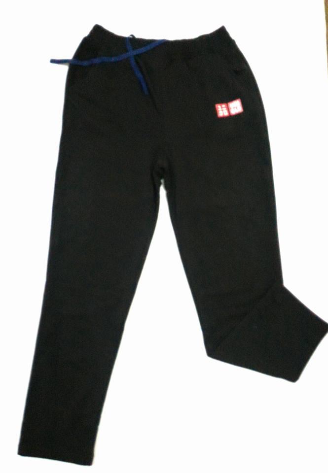 quần nỉ cotton uniqlo nam màu đen