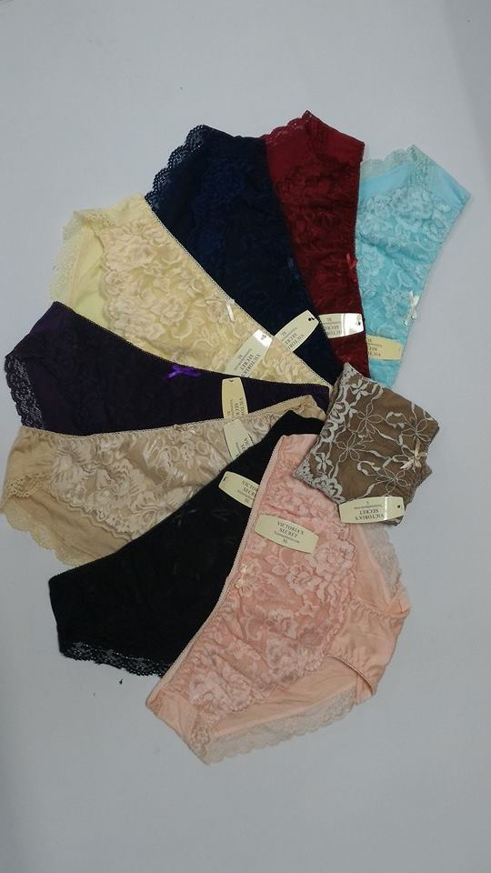 bộ 10 quần lót nữ victoria secret