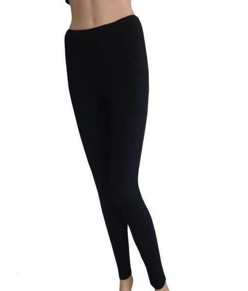 quần tập yoga ôm dài màu đen