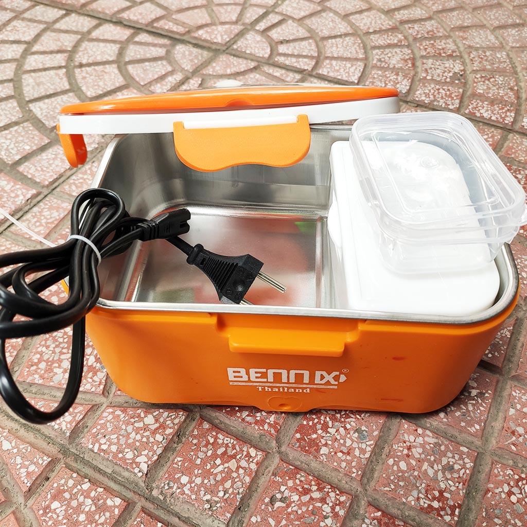 Hộp cơm hâm nóng ruột Inox 304 cắm điện Bennix Thái Lan