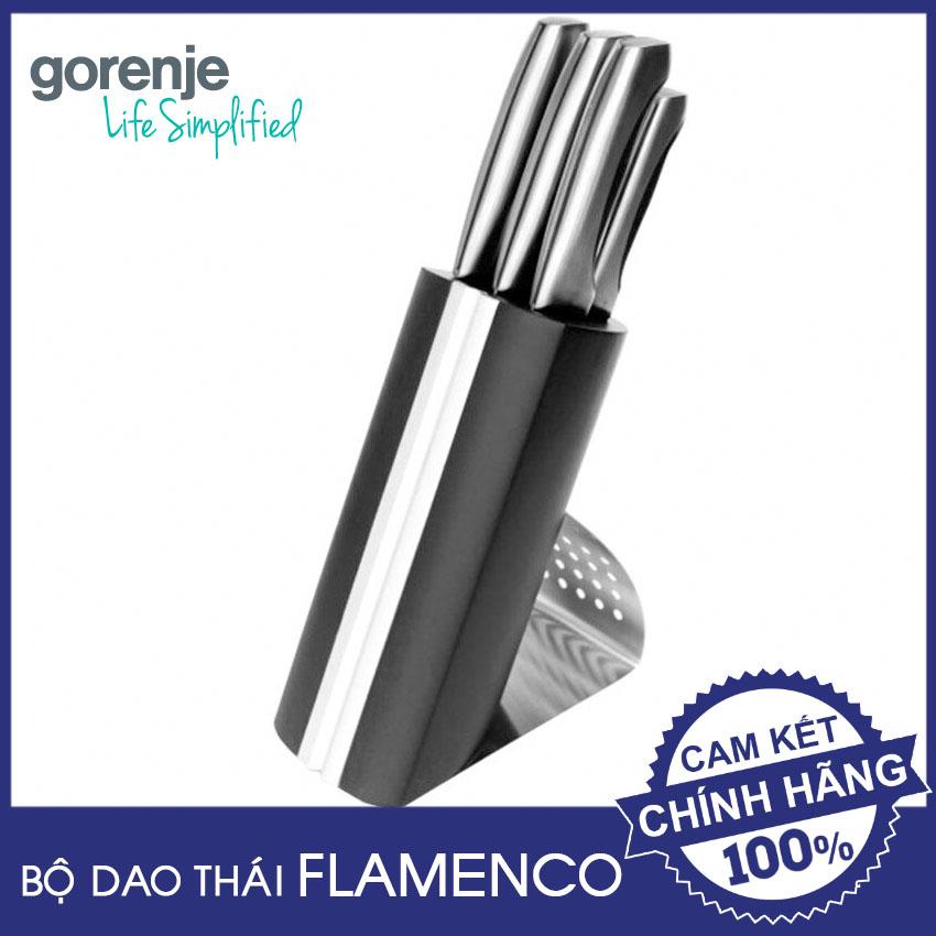 Bộ 6 món dao Inox cao cấp Gorenje Flamenco FSKBS03 hàng chính hãng