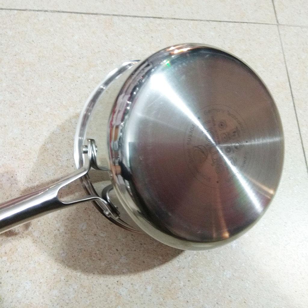 Nồi Inox 304 Elmich Premium 20cm vung kính hàng nhập khẩu chính hãng, bảo hành 5 năm