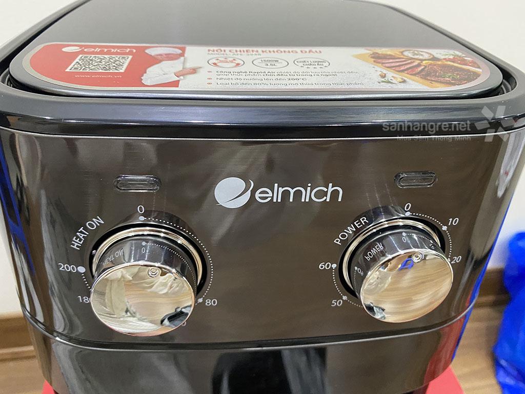 Nồi chiên không dầu Elmich AFE-3948 dung tích 3.5 lít 1500W xuất xứ CH Séc hàng chính hãng, bảo hành 25 tháng