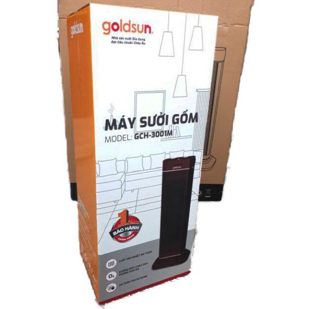 Máy Sưởi Gốm Goldsun GCH-3001M - Hàng Chính Hãng