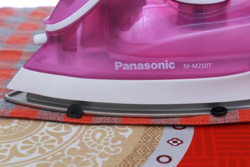 Bàn ủi hơi nước Panasonic NI-M250TPRA công suất 1550W Bảo hành 12 tháng chính hãng