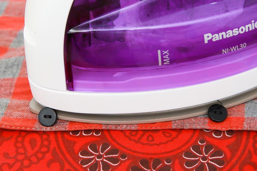 Bàn ủi hơi nước không dây Panasonic NI-WL30 1550W - Hàng chính hãng, bảo hành 12 tháng