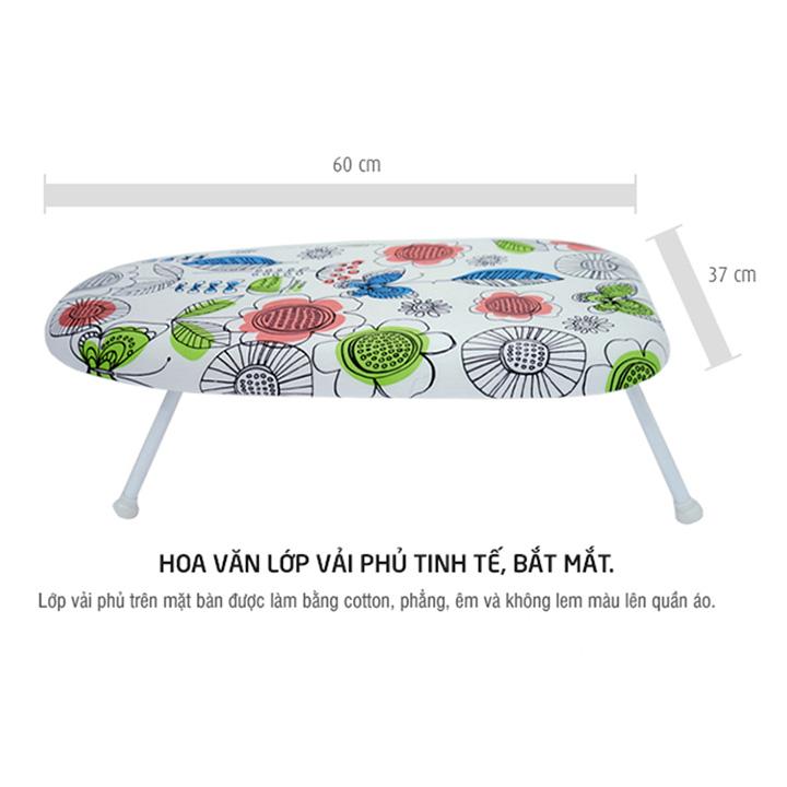 Cầu là thấp - bàn để ủi quần áo kiểu ngồi Lock&Lock P-1115 (60 x 37 x 18 cm)