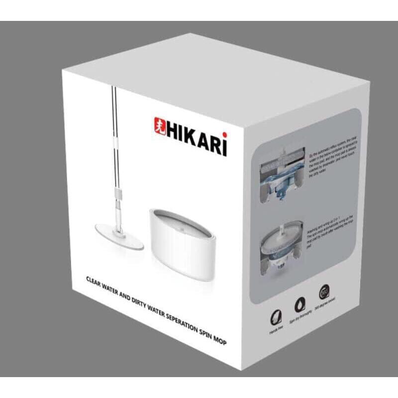 Bộ cây lau nhà thông minh HIKARI HR-365F Nhật Bản
